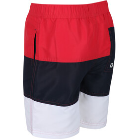 Regatta Shaul III Board Shorts Kids, true red/navy